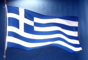 Grekland-flagga